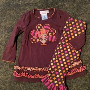 Girls Thanksgiving outfit